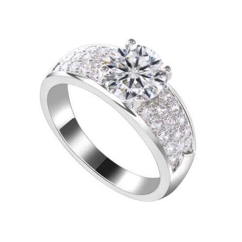 Beautiful Pave CZ Ring