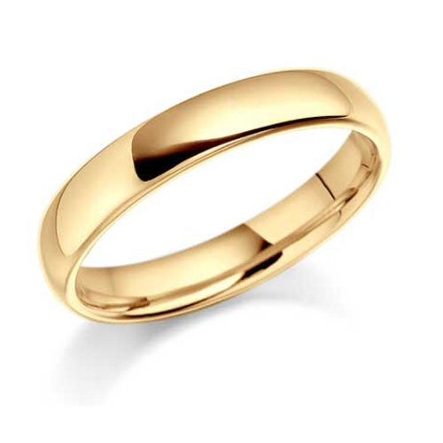 Stainless Steel Gold Ring