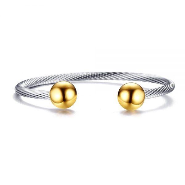 Stainless Steel Cuff Bracelet