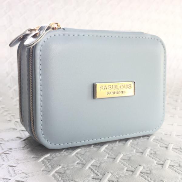 Traveling Jewelry Box Blue