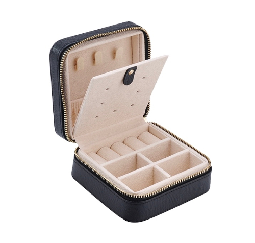 Jet Black Jewelry Box