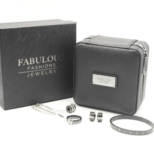 Jet Black Jewelry Box