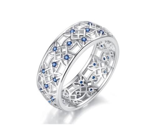 Filigree CZ Vintage Fashion Ring
